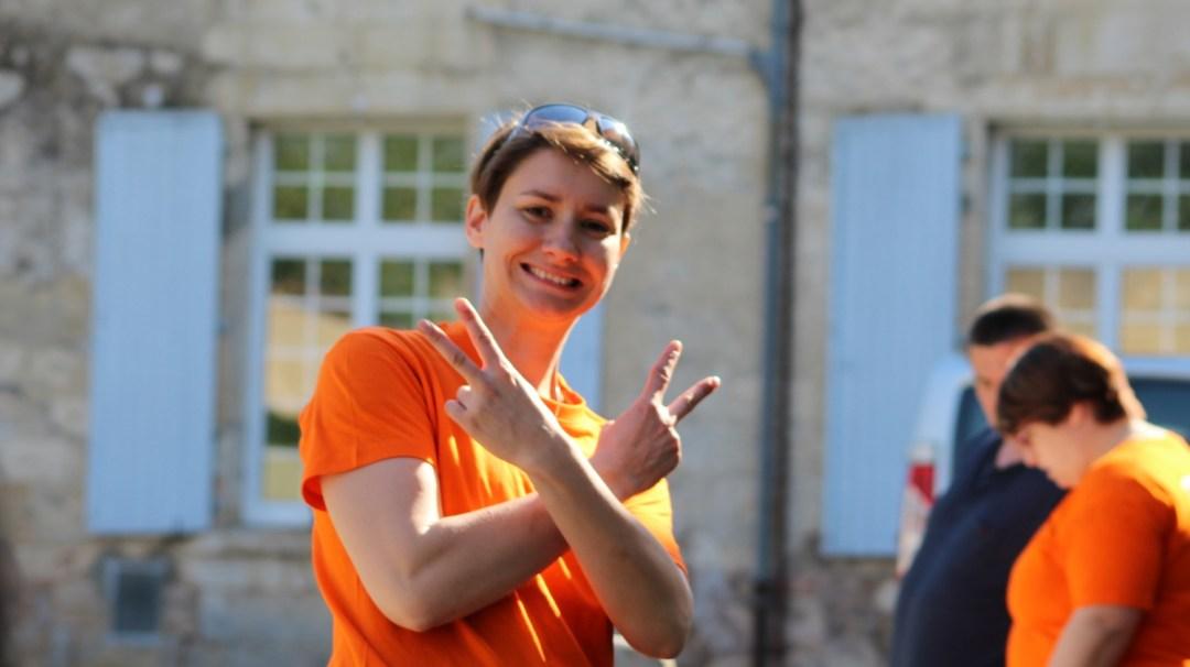 Marché de producteurs Mélanie CAPa SAPVER CFA MFR PuySec 21 Avril 218 (32)