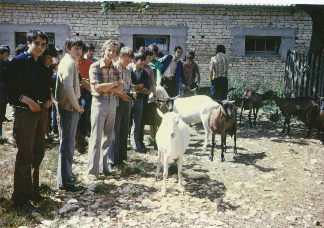 Futurs éleveurs de chèvres