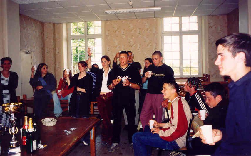 Archives anciens élèves mfr puy-sec 2001 coupes sport