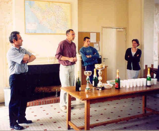 Archives anciens élèves mfr puy-sec 2001 discours coupes sport
