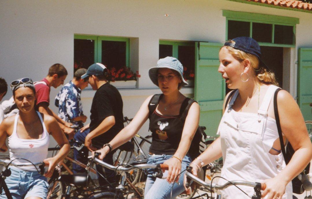 Les trois cyclistes