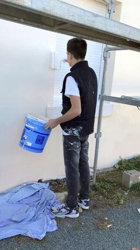 Peintre en bâtiment demande du talent
