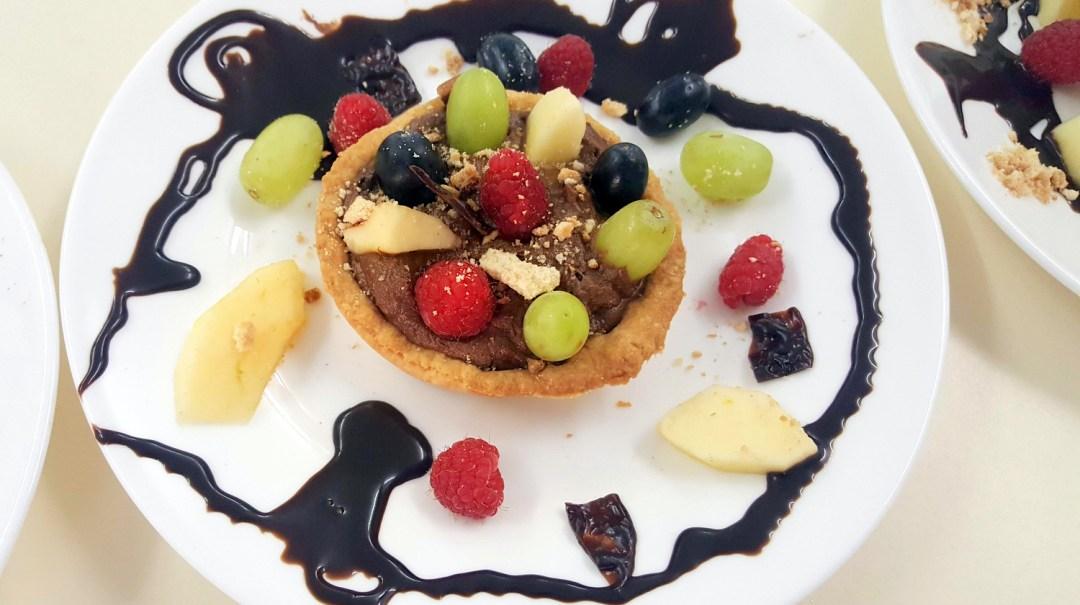 Atelier Patisserie J1 tarte au chocolat et sa farandole de fruits CFA MFR Puy-Sec Formations Adultes (22)