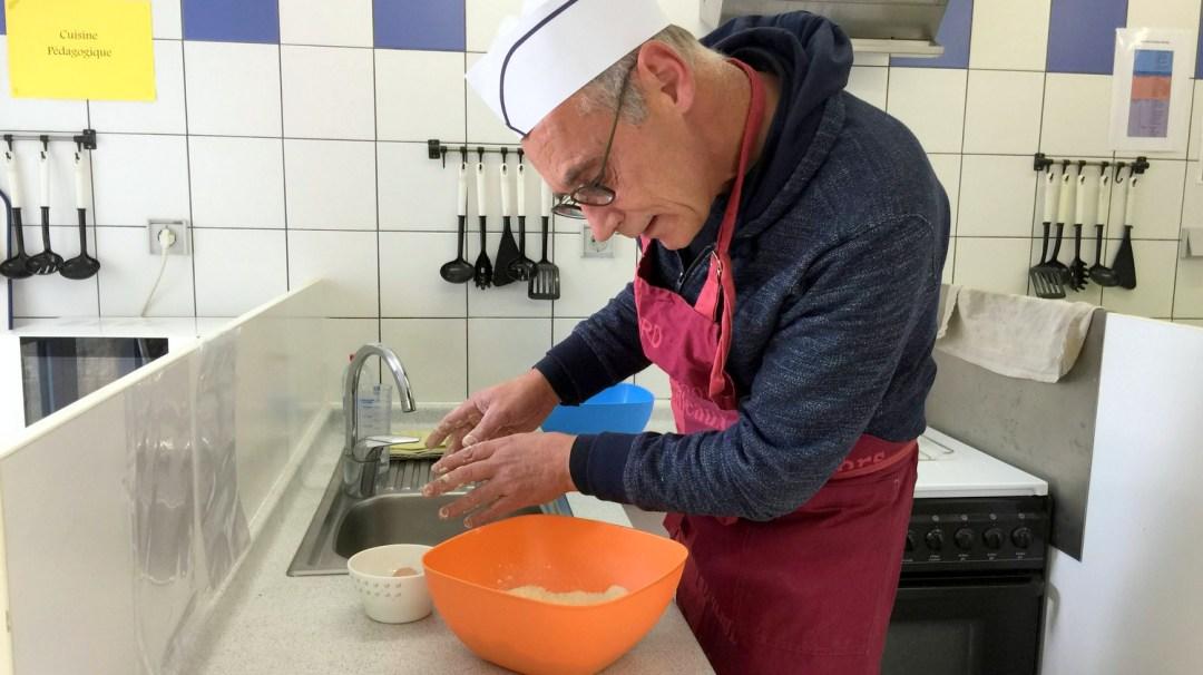 Atelier Patisserie J1 tarte au chocolat et sa farandole de fruits CFA MFR Puy-Sec Formations Adultes (26)