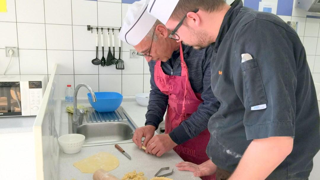 Atelier Patisserie J1 tarte au chocolat et sa farandole de fruits CFA MFR Puy-Sec Formations Adultes (32)