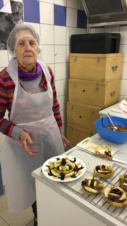 Atelier Patisserie J1 tarte au chocolat et sa farandole de fruits CFA MFR Puy-Sec Formations Adultes (42)