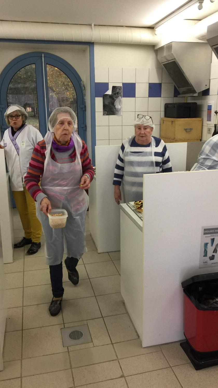 Atelier Patisserie J1 tarte au chocolat et sa farandole de fruits CFA MFR Puy-Sec Formations Adultes (44)