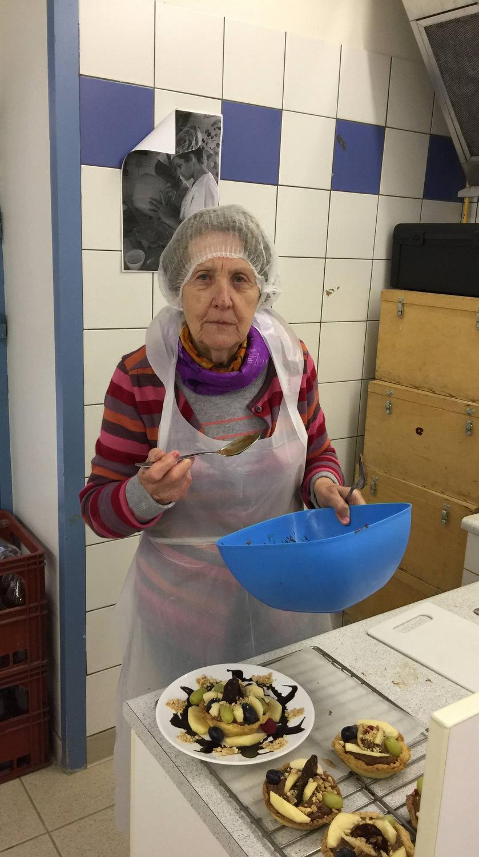 Atelier Patisserie J1 tarte au chocolat et sa farandole de fruits CFA MFR Puy-Sec Formations Adultes (48)