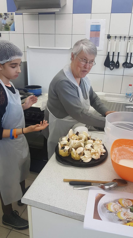 Atelier Patisserie J2 tarte au citron revisitée CFA MFR Puy-Sec Formations Adultes (16)