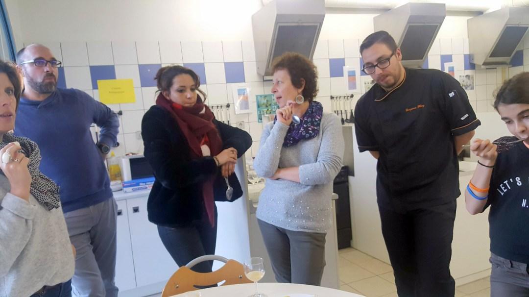 Atelier Patisserie J2 tarte au citron revisitée CFA MFR Puy-Sec Formations Adultes (19)