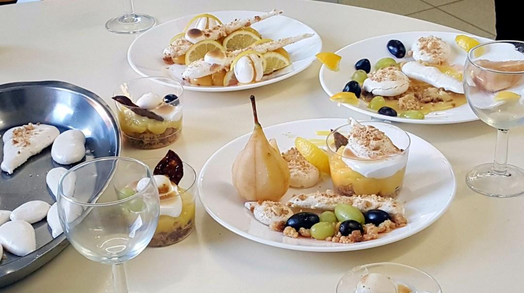 Atelier Patisserie J2 tarte au citron revisitée CFA MFR Puy-Sec Formations Adultes (20)