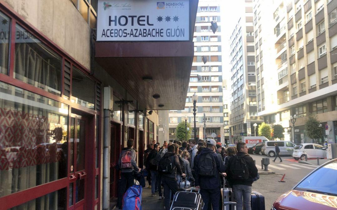 Départ pour les Asturies en Espagne