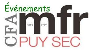 agenda des événements 2019 2020 mfrpuysec