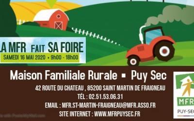La MFR de Saint-Martin-de-Fraigneau fait sa foire