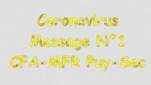 Message 1 coronavirus mfrpuysec
