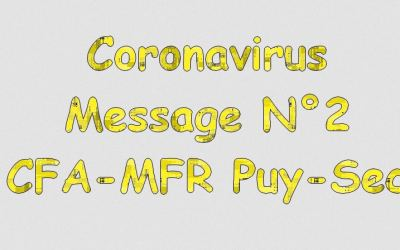 Message 2 : Coronavirus et apprentis