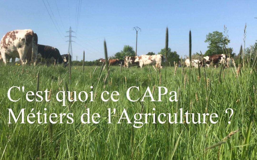 Qu'attends-tu ? Rejoins une de nos formations des métiers de l'agriculture