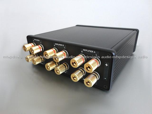 Switch Speaker Between Two Amplifiers