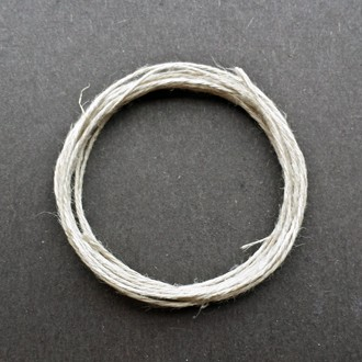 A coil of 3-ply hemp.