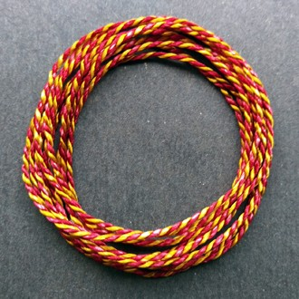 Coil of custom red/yellow 2400 Pearlray