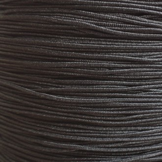 A spool of our black non-fray elastic.