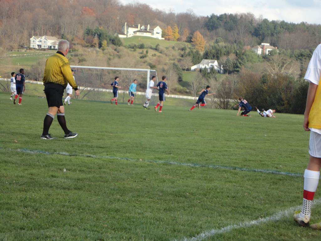 Varsity Boys Soccer Game