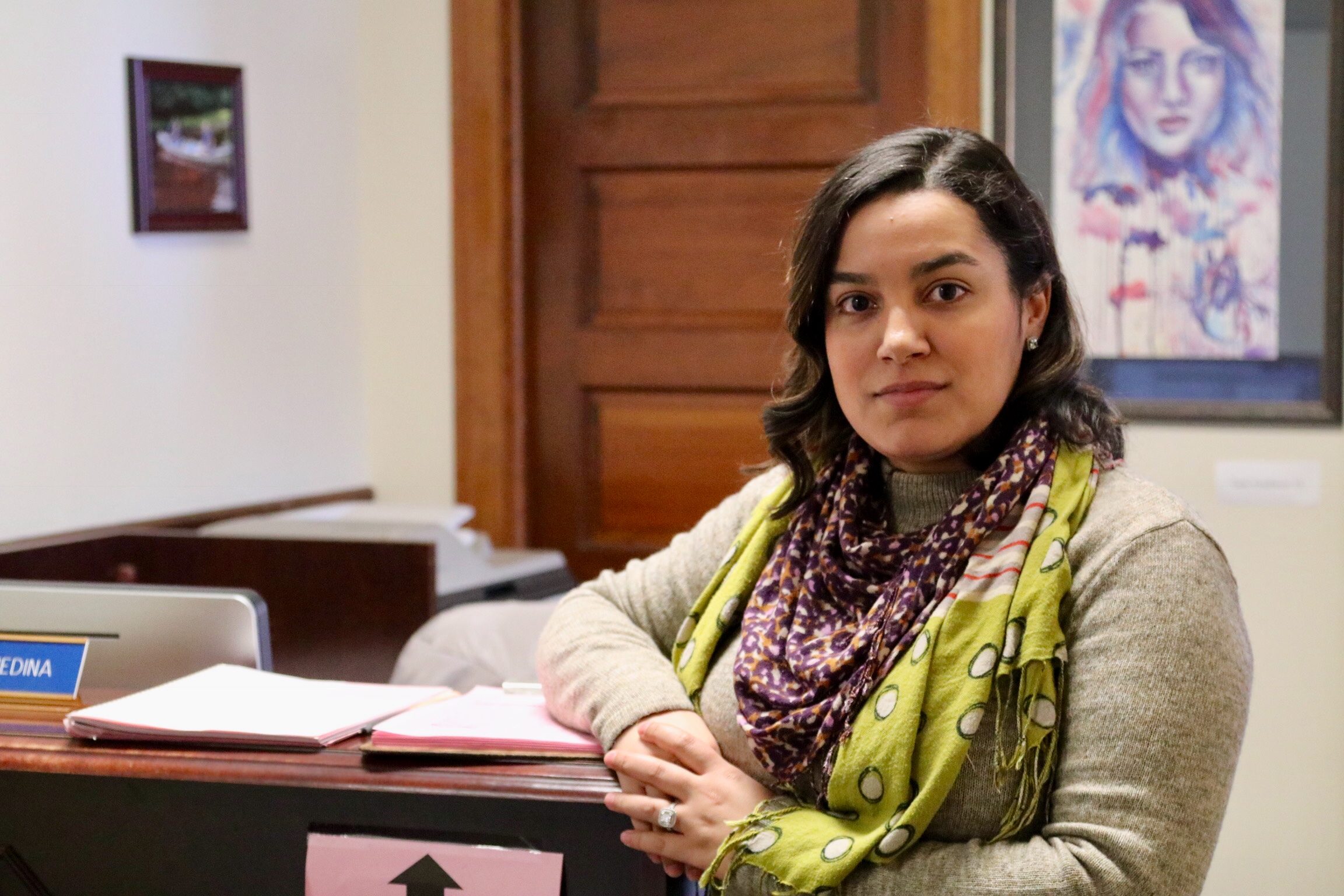 The Heart of the Upper School Office: Get to Know Darlyn Medina