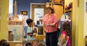 Sparking a Love for Reading: Lower School Librarian Deb Alterman Retires