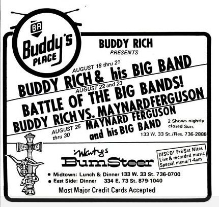 1975 Tour Dates — Maynard Ferguson Tour Date Archive