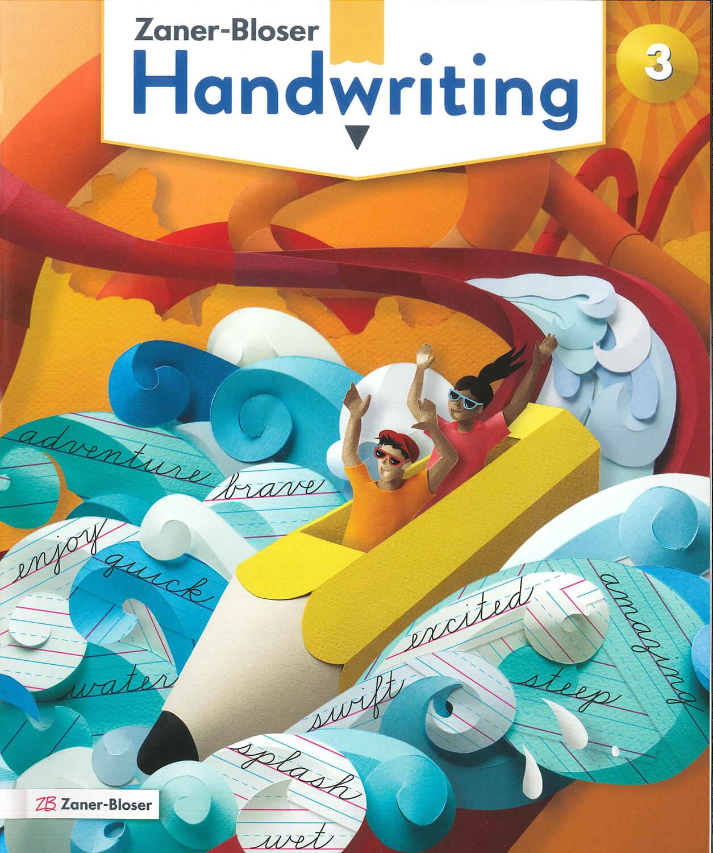 Handwriting 3 Cursive Zaner Blozer