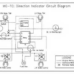 Mg Tc Wiring Diagram For Spotlights To High Beam Members Car Gallery