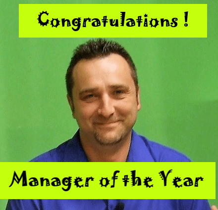 Mike Hill - Manager of the year- 20019