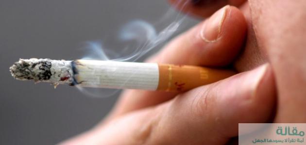 أضرار التدخين على الجلد