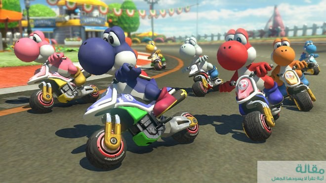 لعبة Mario Kart 8 Deluxe أفضل إصدار على الإطلاق لاجهزة نينتندو