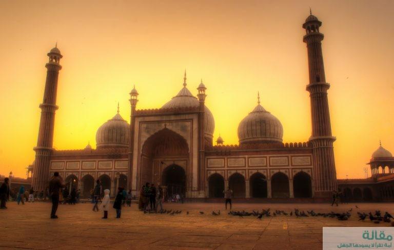 أفضل أماكن السياحة في مدينة في دلهي الهندية
