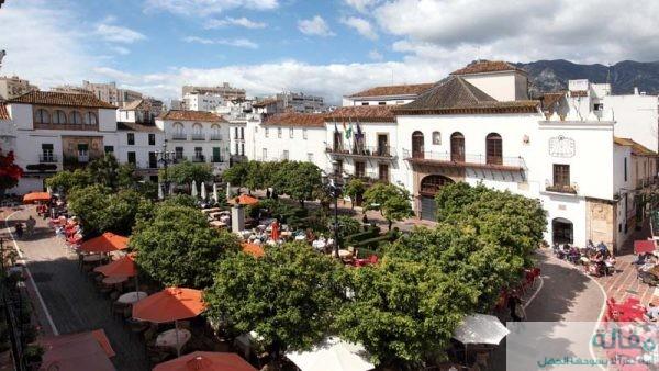 السياحية في منتجع ماربيا الاسباني