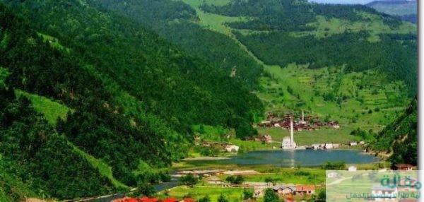 السياحة في بحيرة اوزنجول بتركيا