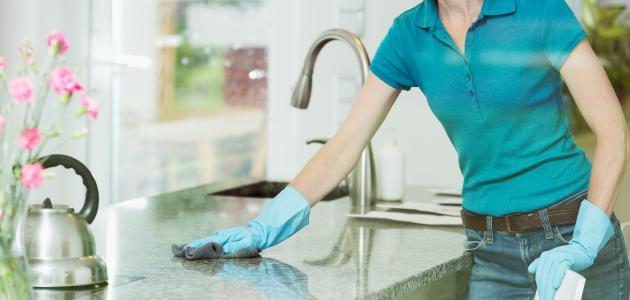 اساسيات أثناء العمل في المطبخ