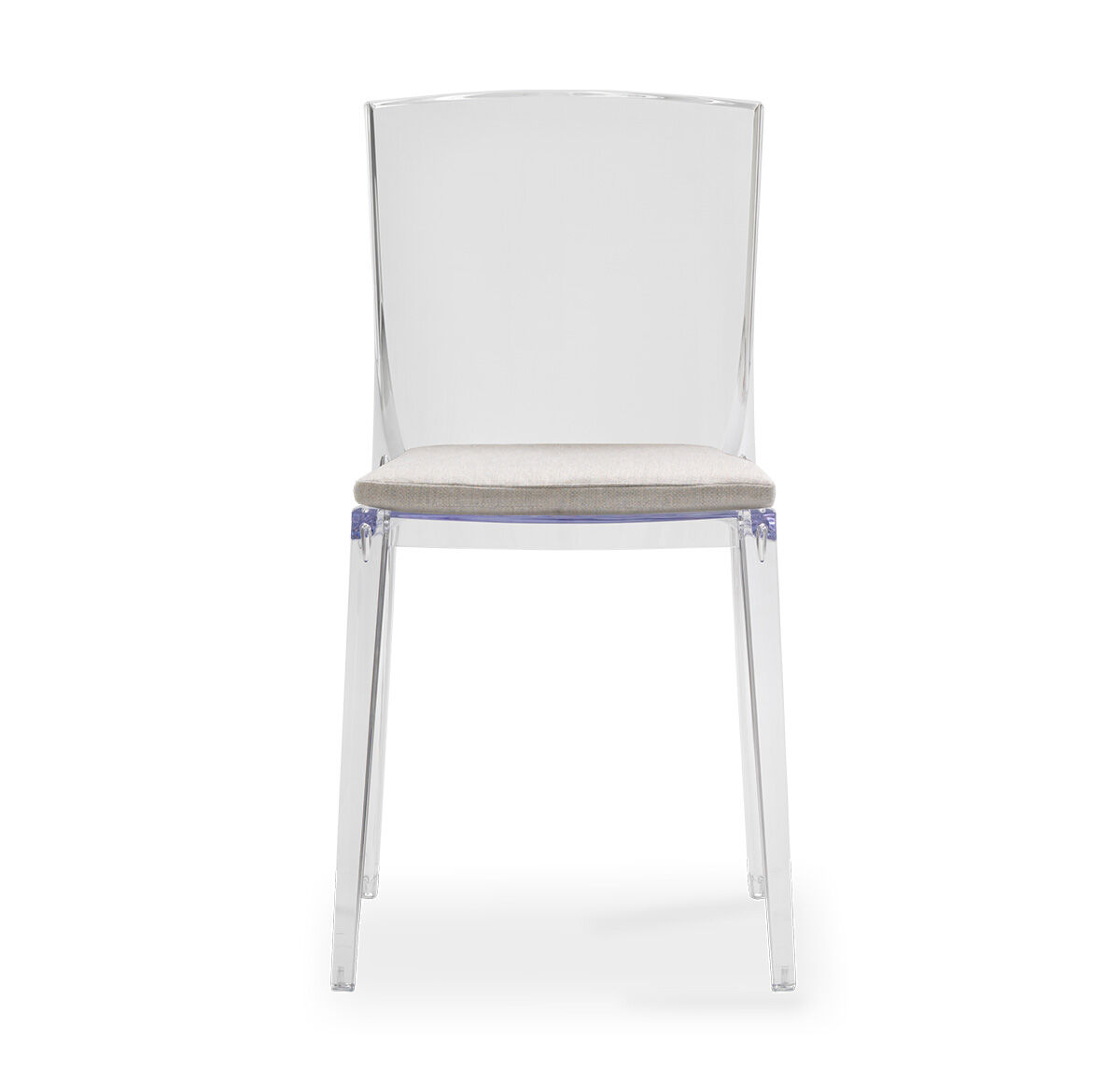 see through dining chairs bruno lift chair parts alain clear side with cushion