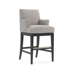 Bar Chairs With Arms And Backs Slipcovers For Folding Pattern Anthony Return Swivel Stool