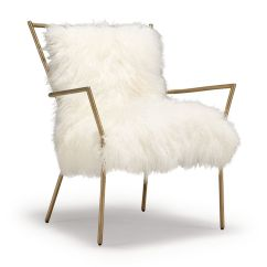 Vanity Chair White Fur Butterfly Covers Canada Ansel Tibetan