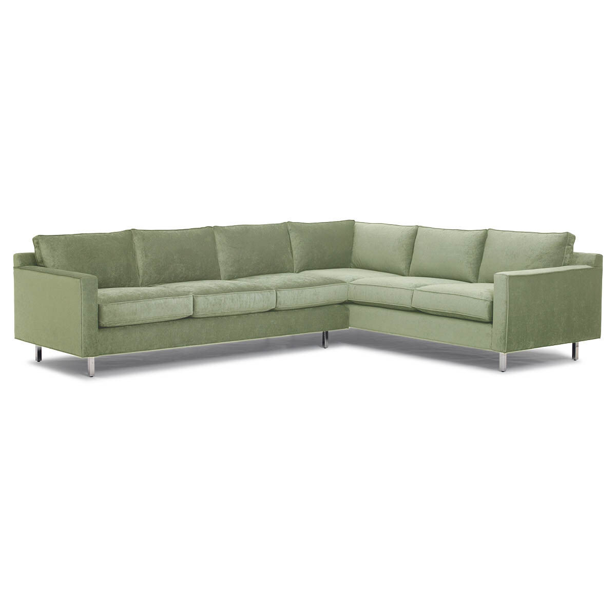 left arm return sofa wicker outdoor furniture lounge hunter studio sectional