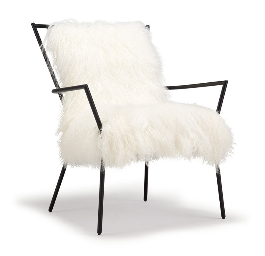 avery's chair covers and more kmart bean bag chairs australia accent specialty ansel white tibetan fur hi res