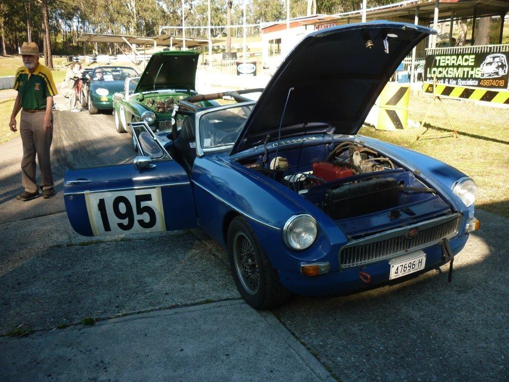 MG Cars Only Regularity / Hillclimb - MG Car Club Newcastle