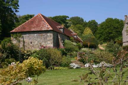 A view of Mottistone gardens which were visited