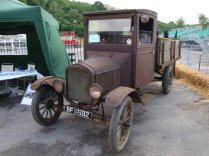 Several Model T Fords on Show