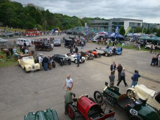 View over the Paddock on Saturday