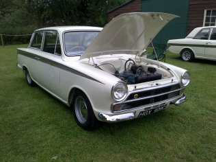 Ah, the Lotus Cortina