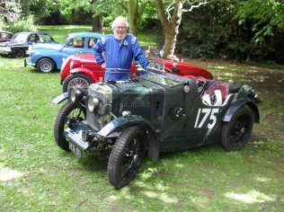 Philip with his LeMans Car