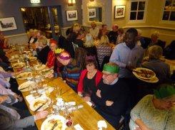 Left Wingers, Tony Bantick as Jeremy Corbyn in Green Hat